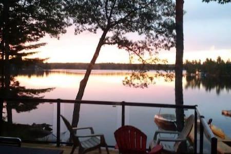 Sunny, Family-friendly, Lake Front - Buckhorn - 小木屋
