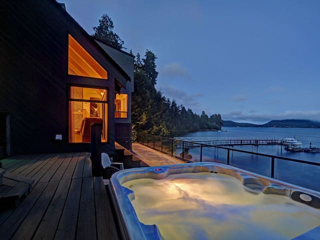 Eagles Nest   Private Waterfront Home