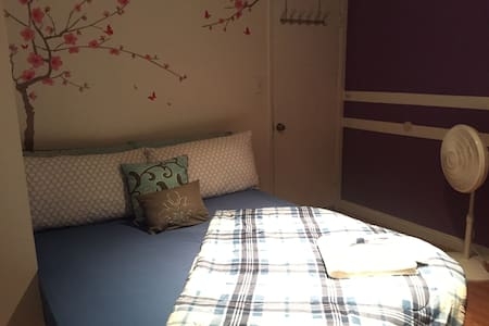 Bright Clean Quiet Room with Queen size bed - Rowland Heights