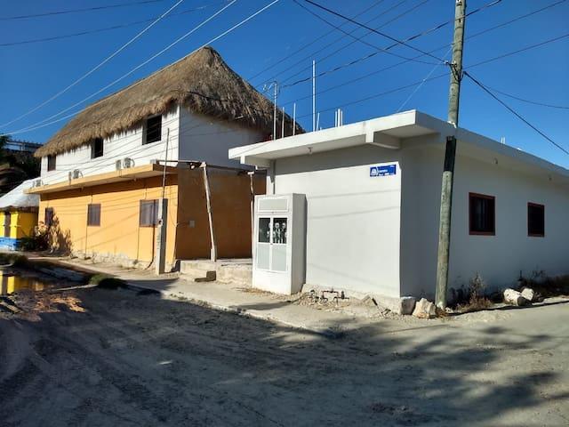 Casa de los mapaches