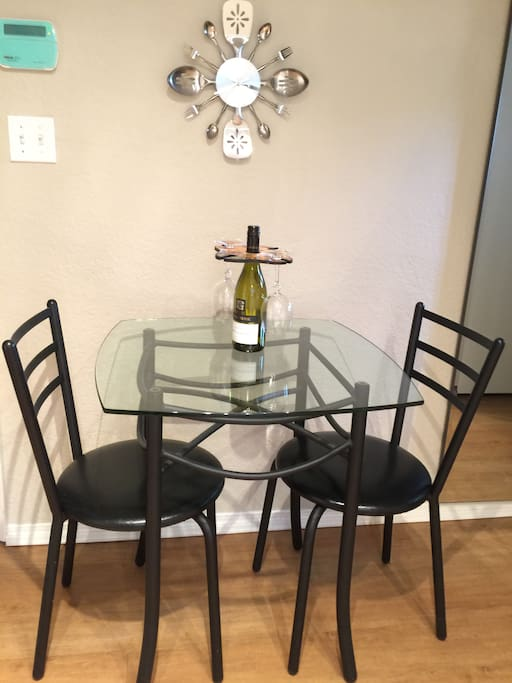 Perfect for dining in with a fully equipped kitchen.