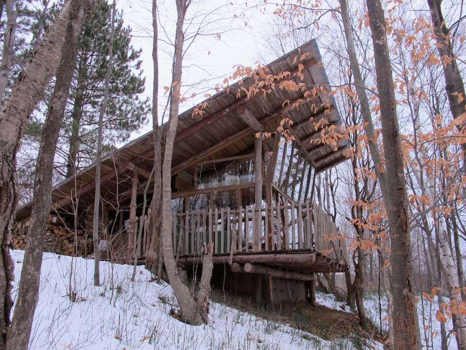 One-of-a-kind cabin