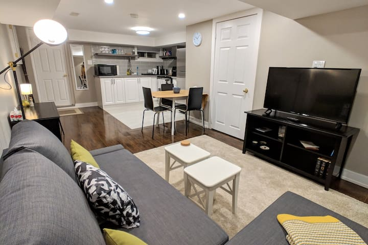 Beautiful & Modern 1BR Apartment in Hillcrest Village