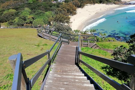 Cabarita beach, walk to Norrie's headland/beach