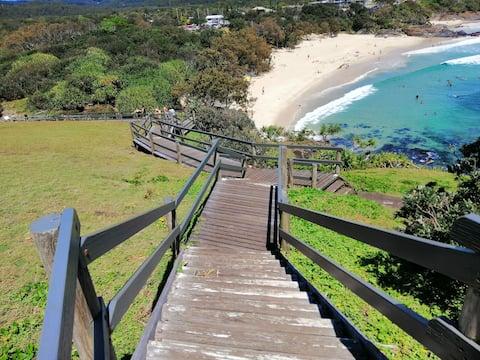 Cabarita beach, walk to Norrie's headland/beach