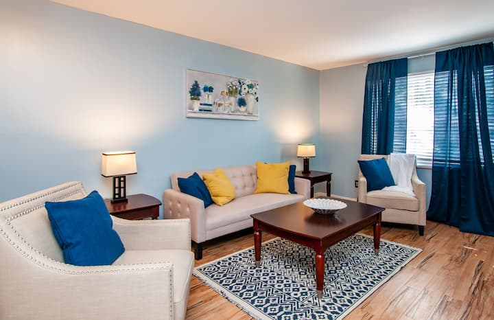 Heart of Birmingham |UAB 2 BR| Free Parking|