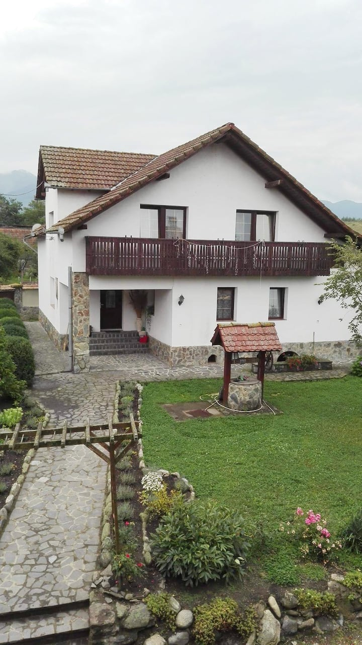 Vila Serbota, flat  80 mp , with garden and creek