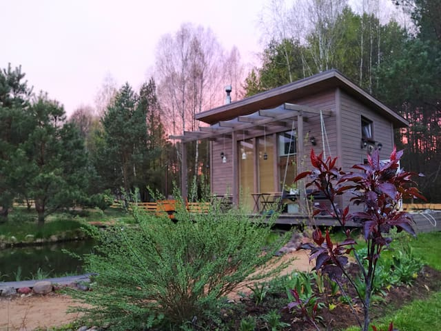 House in forest 50 km from Minsk