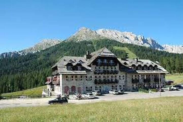 Splendido alloggio nel cuore delle Dolomiti