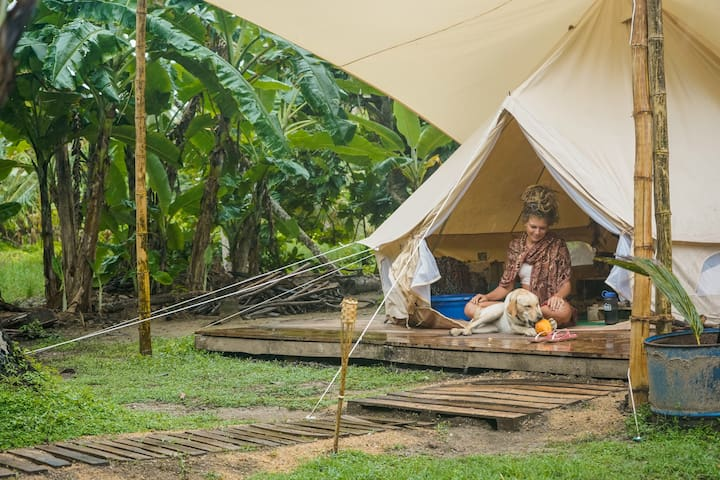 Stoked Sri Lanka - Glamping Tent