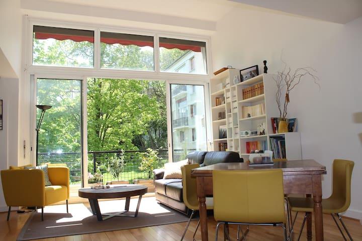 Grand appartement familial à 5min de Paris - Meudon - Condominio