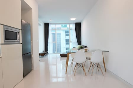 Stylish 1BR APT Located 7 mins from Tg Pagar MRT