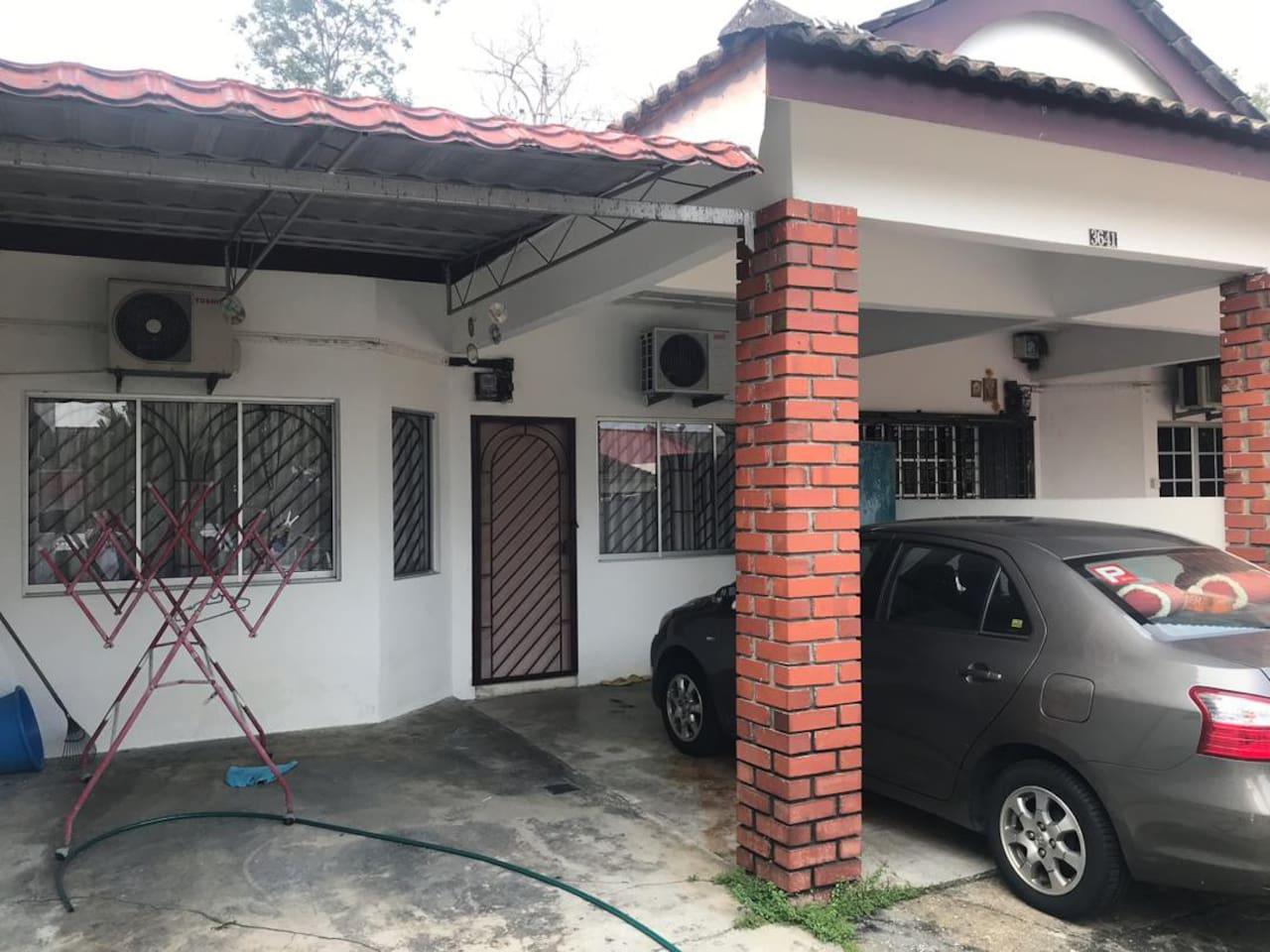 Front - car porch