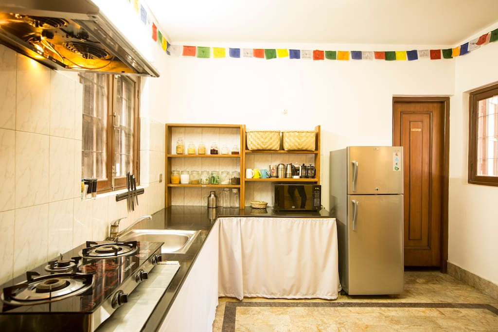 Our beautiful kitchen. Yours to use!