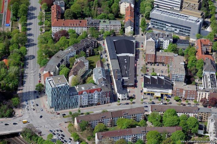 Ruhige Oase im Herzen Hamburgs