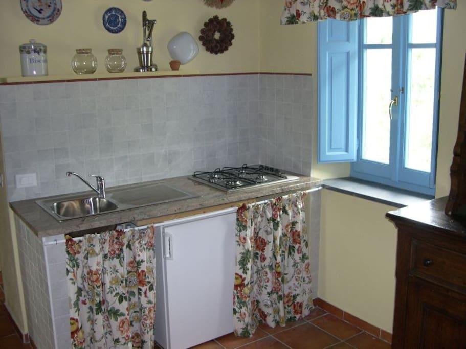 angolo cucina - kitchenette