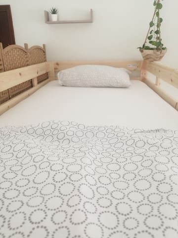 Single bed in a female dorm - Near Oporto (Beach)