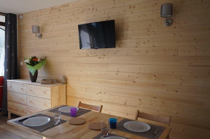 Studio au pied des pistes à la Bresse Hohneck