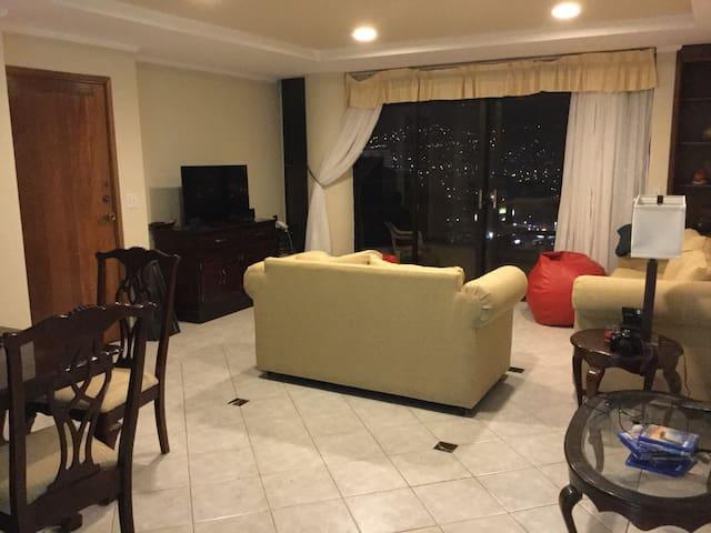 Habitación doble con la mejor vista de la ciudad - Tegucigalpa - Guest suite