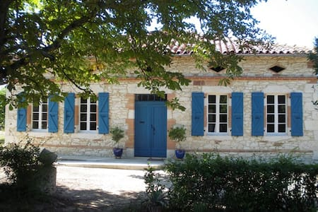 Charming isolated farmhouse - Monferran-Savès - Haus