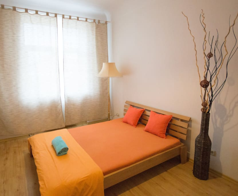 Double room with a great view to the heart of the Old Town, House of Blackheads