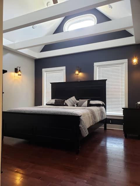 Beautifully renovated interior, large 3 BR 2.5 BA