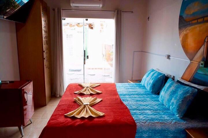 Quarto privativo para família - Hostel Caçari