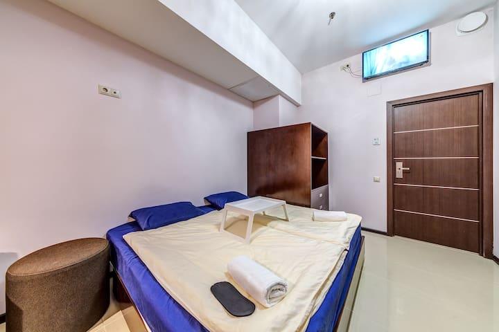 """Hotel """"Оранжевый рай"""" у м.Марьино Cтудия 18 кв.м."""