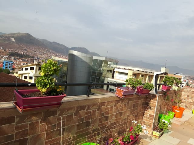 APARTMENT WITH A TERRACE IN CUSCO