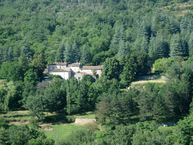 Large family home in the Cévennes National Park