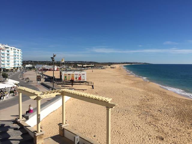 Algarve Armação de Pêra Beach Portugal