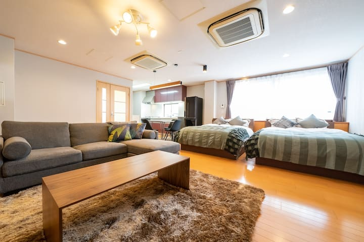 HOTEL er.☆Walking Distance to Sannomiya/12ppl/2LDK