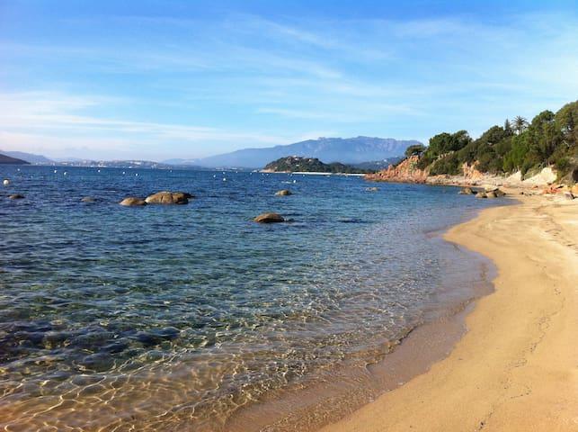 Villa - Porto Vecchio - Cala Rossa -private beach - Lecci