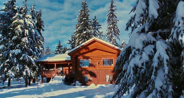 Winter auf der Beaver Guest Ranch