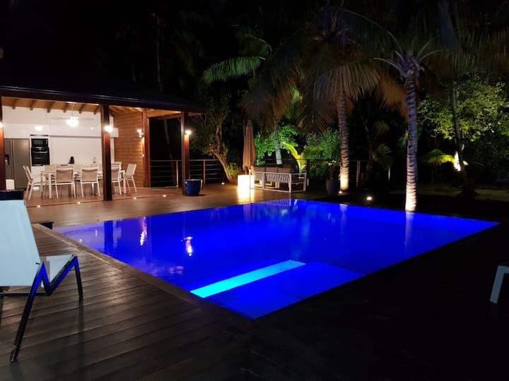 Sea Star – Villa de luxe sur île privée 8 pers
