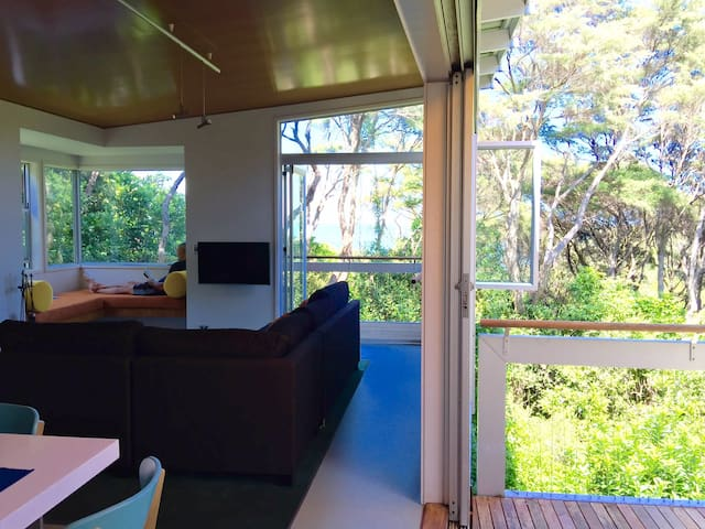 Tree House - Surrounded by native bush and birds - Auckland - Casa