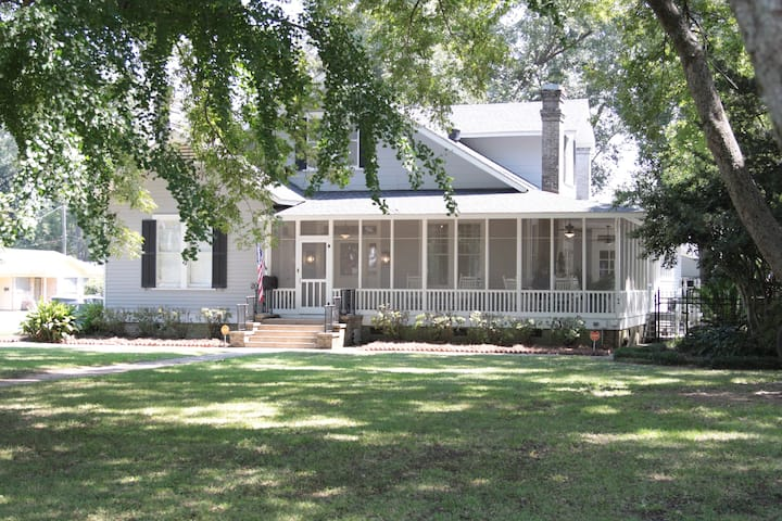The Perrault House - Circa 1911 - Pecan Plantation