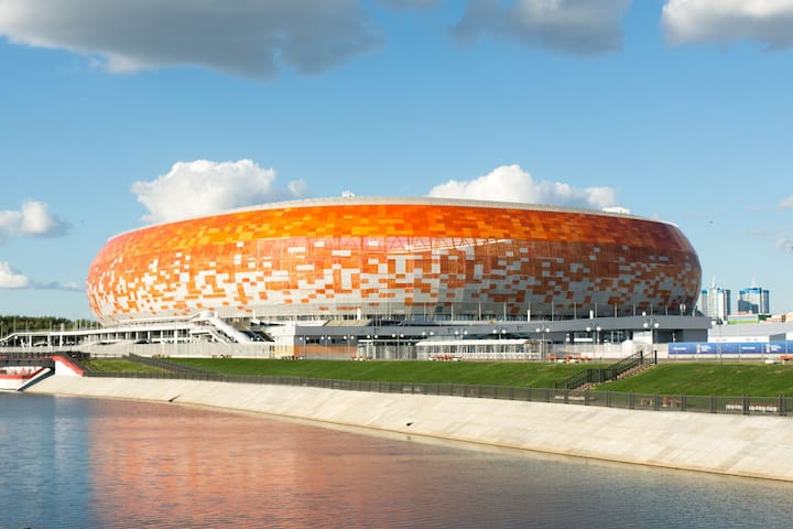 The apartment at Mordovia Arena