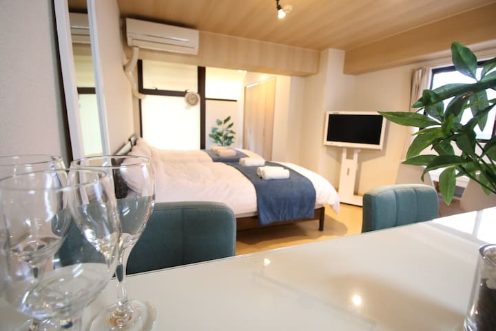 31. 新宿,Shinjuku and Quiet residential. WIFI, 7min