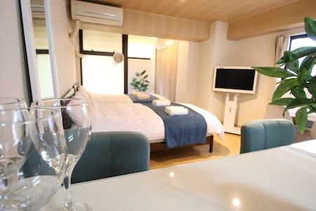 31. 新宿, 清洁度, 安静的住宅, 空间大, Pocket Wifi, 7min,