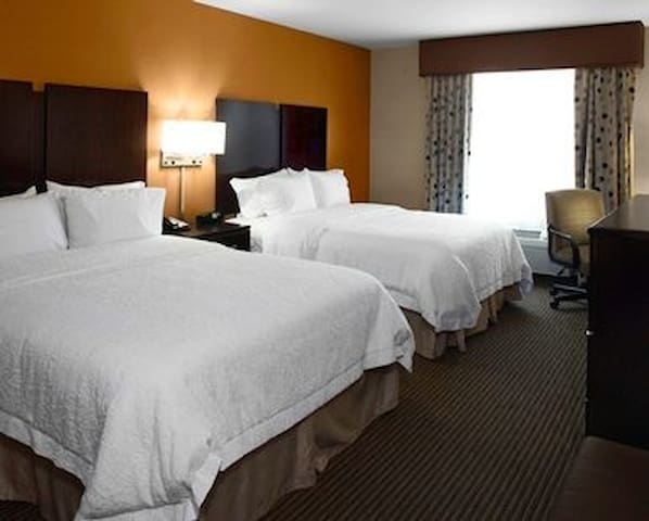 Stay at the Hampton for cheap!