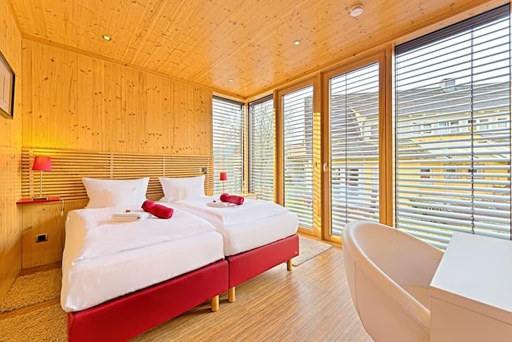 Modernes HybridHotelModul mein kleinHOTEL Suite