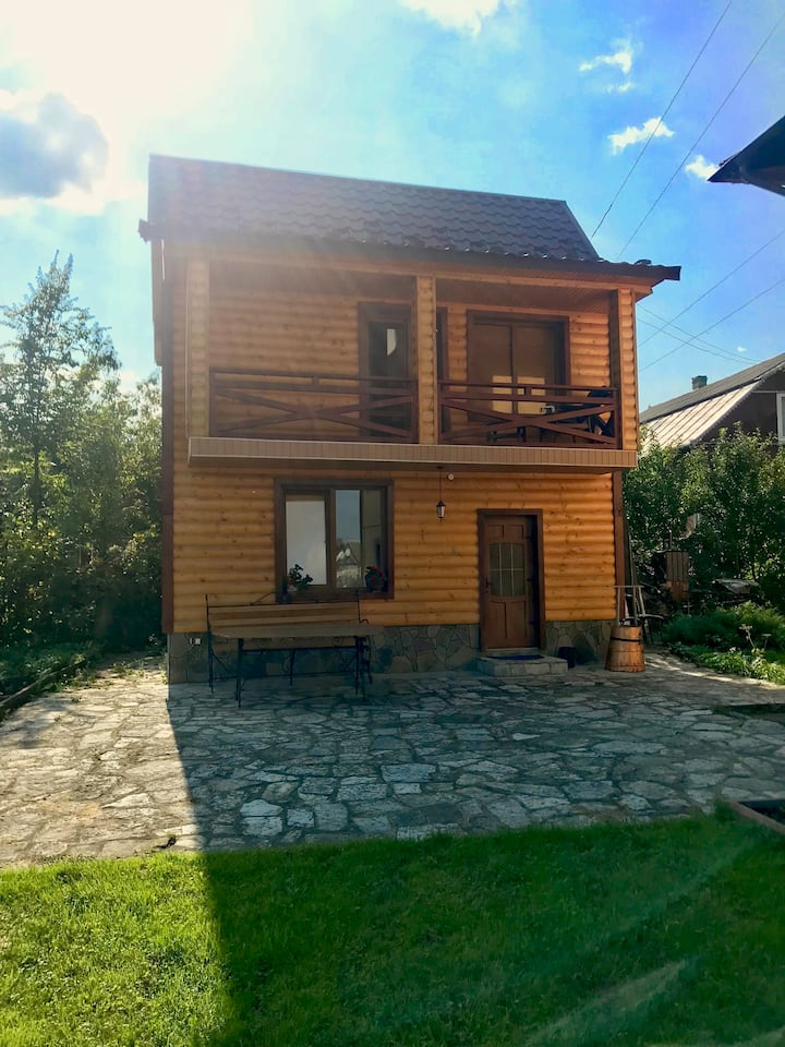 Incredible house with sauna