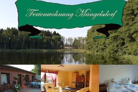 Willkommen in der Ferienwohnung  Mangelsdorf