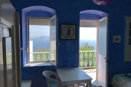 Volcano top,  peaceful house in Nikia, Nisyros