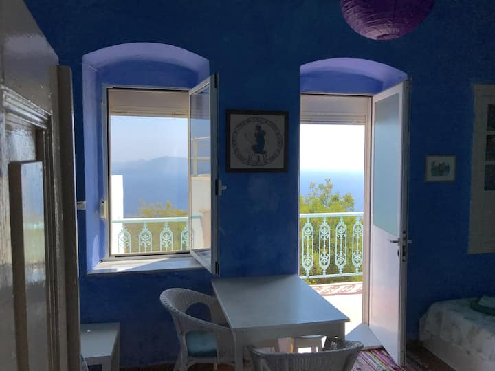 Volcano top,  peaceful house in Nikia, Nisyros