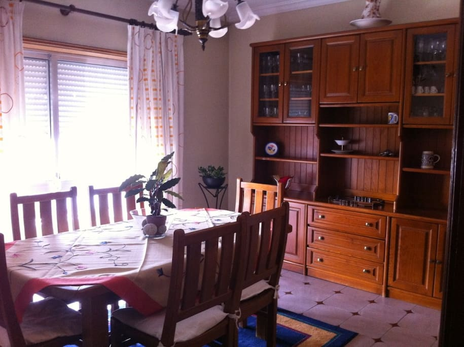 Sala / Living and Dining Room