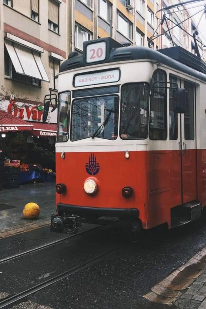 Nostalgic Moda Tram