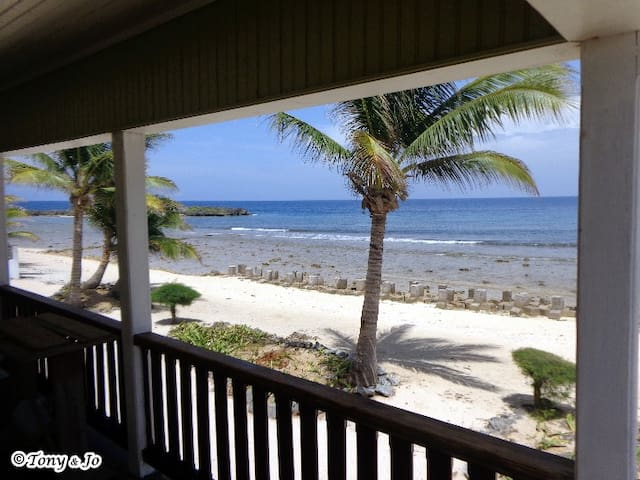 Utila's Reef Point Beach House