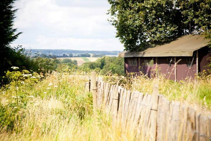 Manor Farm - 2 person log cabin